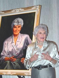 Marion P. Downs at 90
